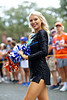 The Florida Dazzlers dance and cheer as the Florida Gators walk into Ben Hill Griffin Stadium during Gator Walk, as the Gators prepare to take on the Tennessee Volunteers in Gainesville, Florida on September 25th, 2021. (Photo by David Bowie/Gatorcountry)