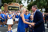 Florida Gators head coach Dan Mullen and the Florida Gators walk into Ben Hill Griffin Stadium during Gator Walk, as the Gators prepare to take on the Tennessee Volunteers in Gainesville, Florida on September 25th, 2021. (Photo by David Bowie/Gatorcountry)
