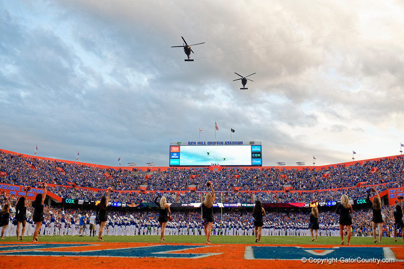 Photos from the first half as the Florida Gators host the Tennessee Volunteers at Ben Hill Griffin Stadium in Gainesville, Florida on September 25th, 2021. (Photo by David Bowie/Gatorcountry)