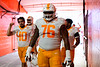 Tennessee Volunteers offensive lineman Javontez Spraggins #76 as the Florida Gators defeat SEC rival, the Tennessee Volunteers, 38-14 at Ben Hill Griffin Stadium in Gainesville, Florida on September 26th, 2021. (Photo by David Bowie/Gatorcountry)