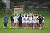 The Florida Gators womens lacrosse team gathers together before taking the field, as the #10 ranked Gators defeat the #20 ranked Vanderbilt Commodores 22-9 at Donald R. Dizney Stadium in Gainesville, Florida on April 18th, 2021 (Photo by David Bowie/Gatorcountry)