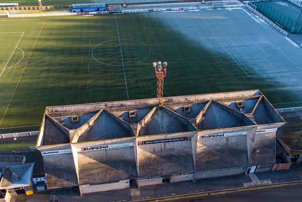 Gala Fairydean football arena