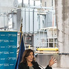 210922 NYPA Hochul 2<br /> James Neiss/staff photographer <br /> Lewiston, NY - New York State Governor kathy Hochul says a few words at a press conference inside the New York Power Authority where they announced the completion of a $460 million infrastructure upgrade project at the Lewiston Pump Generating Plant and the digitization of the first turbine unit under Next Generation Niagara.