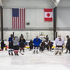 210224 County Girls Hockey 1<br /> (James Neiss/staff photographer)<br /> Niagara Falls, NY - The Niagara County girls hockey team practice at the Hyde Park Ice Pavilion. The team is out to a 2-1 start.