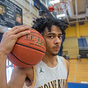 210407  Jalen Bradberry 2<br /> James Neiss/staff photographer <br /> Niagara Falls, NY - Jalen Bradberry of Niagara Falls is the newspapers boys basketball player of the year.