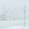 210126 Winter Storm 3<br /> (James Neiss/staff photographer)<br /> Lockport, NY - It was near whiteout conditions at the intersection of  S. Transit and Robinson Roads as emergency responders deal with a minor fender bender.