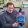 210427 Pfeiffer 3<br /> James Neiss/staff photographer <br /> Niagara Falls, NY - Niagara Gazette reporter Rick Pfeiffer received high honors by the Niagara Gazette parent company Community Newspaper Holdings Inc., earning the title of Reporter of the Year in The Best of CNHI 2020 contest.