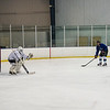 210224 County Girls Hockey 2<br /> (James Neiss/staff photographer)<br /> Niagara Falls, NY - Members of the Niagara County girls hockey team practice at the Hyde Park Ice Pavilion. The team is out to a 2-1 start.