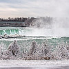 210125 Icy Mist 6<br /> (James Neiss/staff photographer)<br /> Niagara Falls, NY - The icy spray from the Horseshoe Falls freezes everything it touches along Terrapin Point at Niagara Falls State Park.