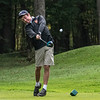 211006 Golf 1<br /> James Neiss/staff photographer <br /> Lockport, NY - Nathan Meyers of Wilson hammers the ball at their second tee during The Niagara-Orleans League golf championship tournament at the Willowbrook Golf Course.