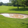 210721 Porter Cup Flood 2<br /> James Neiss/staff photographer <br /> Lewiston, NY - Water Hazard - The start of the Porter Cup was delayed a day because of flooding and damage cleanup from Tuesday's storm.