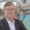 210222 Paul Dyster 1<br /> (James Neiss/staff photographer)<br /> Niagara Falls, NY - Former Niagara Falls Mayor Paul Dyster is enjoying his time out of the spotlight.