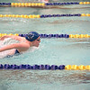 210504 LKPT Swimming 2<br /> James Neiss/staff photographer <br /> Lockport, NY - Lockport girls swimmer Delaney Adams participates in the 200MR against West Seneca East.