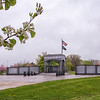 210504 Monument Enterprise<br /> James Neiss/staff photographer <br /> Niagara Falls, NY - Trees are in full bloom around the Niagara Falls Veterans Memorial at Hyde park.