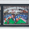 210120 Enterprise<br /> (James Neiss/staff photographer)<br /> Town of Niagara, NY - The Niagara Sausage Company on Lockport Road has a vision for the future of the Buffalo Bills, and that's at SUPER BOWL LV.