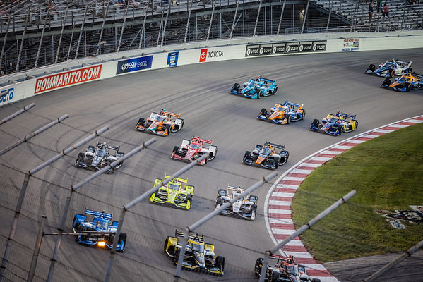 Indy Cars at WWT Raceway 2021