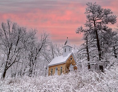 DA054,DA,Chapel_after_Snowfall