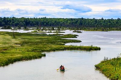 DA110,DT,Canoeing Madeline Island WI