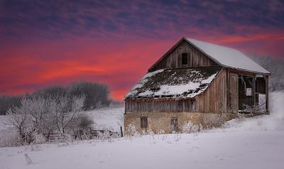 DA061,DP,Winter Sunset