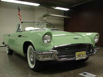 Case, Ron & Merry 1957 TBird