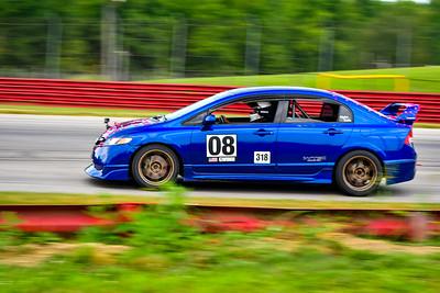 2021 Mid Ohio GridLife TDay Adv Car Blu Civic