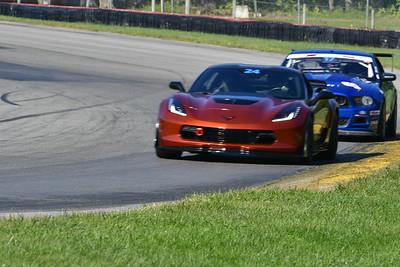 2021 MVP MO Blue Car # 24