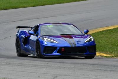 2021 MVP MO Blue Car # 38 C8