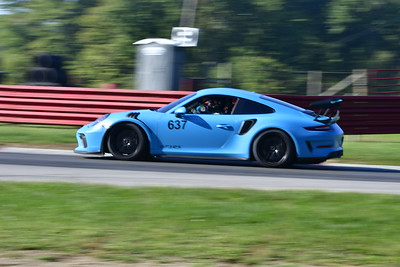 2021 MVP MO Blue Car # 9