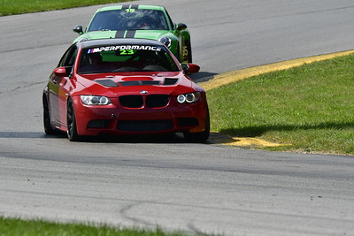 2021 MVP MO Green Car # 23