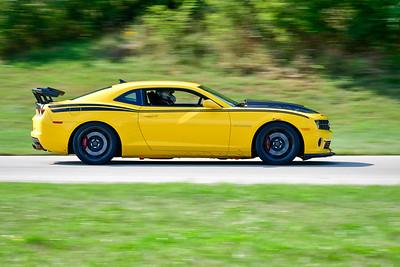 2021 SCCA Pitt Race TNIA Aug Adv Yellow Camaro Wing