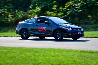 2021 SCCA Pitt Race TNIA Aug Interm Blk Civic