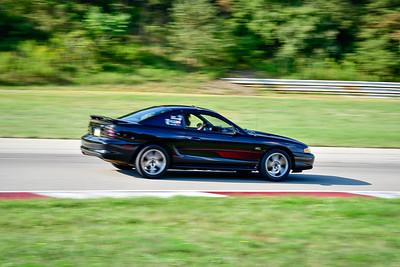 2021 SCCA Pitt Race TNIA Aug Interm Blk Mustang