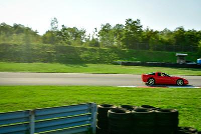 2021 SCCA Pitt Race TNIA Aug Interm Red Vette