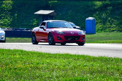 2021 SCCA Pitt Race TNIA Aug Novice Red Miata Convt