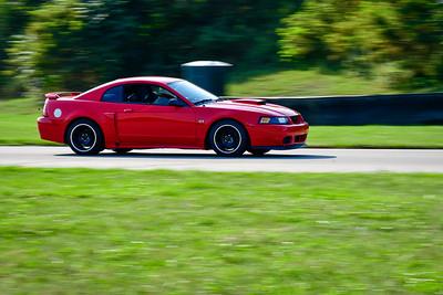 2021 SCCA Pitt Race TNIA Aug Novice Red Mustang