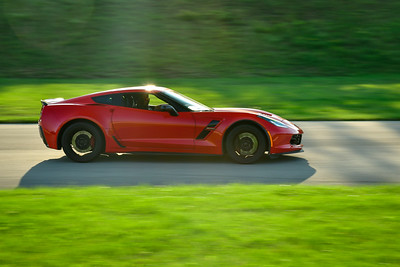 2021 SCCA Pitt Race TNIA Aug Novice Red Vette