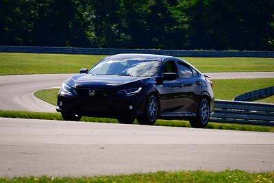 2021 SCCA TNiA Pitt Race Int Blk Civic