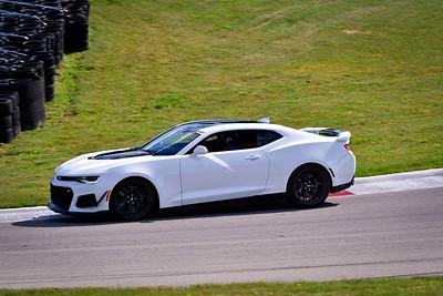 2021 SCCA TNiA Pitt Race Int White Camaro