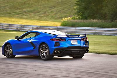 2021 SCCA TNiA Pitt Race Nov Blu Vette C8