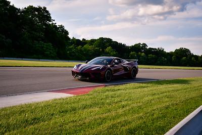 2021 SCCA TNiA Pitt Race Nov Burgundy Vette C8