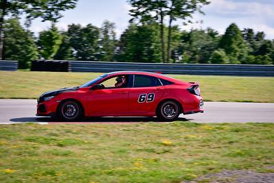 2021 SCCA TNiA Pitt Race Nov Dk Red Civic