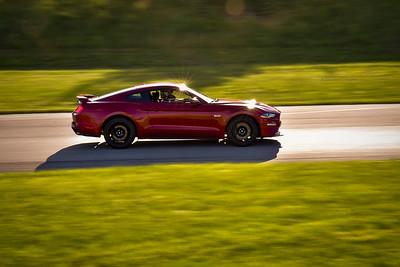 2021 SCCA TNiA Pitt Nov Burgandy Mustang