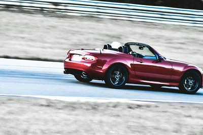 2021 SCCA TNiA Pitt Nov Red Miata Topless