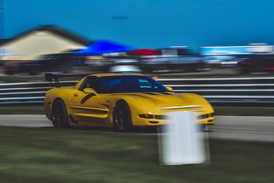 2021 SCCA TNiA Pitt Nov Yellow Vette Wing