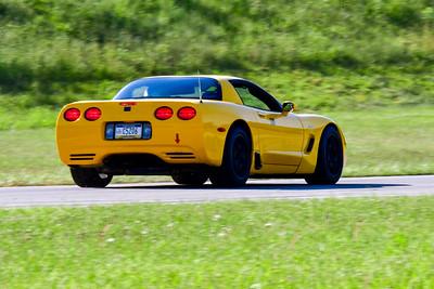 2021 SCCA TNiA Pitt Adv Yellow Vette