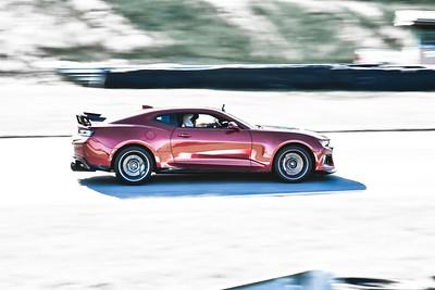 2021 SCCA TNiA Pitt Int Burgandy Camaro Wing