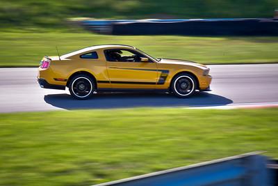 2021 SCCA TNiA Pitt Int Orange Blk Mustang
