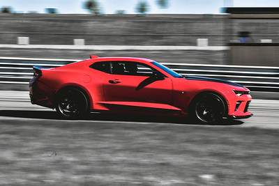 2021 SCCA TNiA Pitt Int Red Camaro