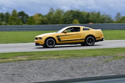 2021 SCCA TNiA Pitt Race Adv Orange Mustang