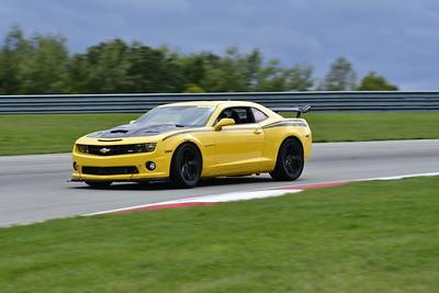 2021 SCCA TNiA Pitt Race Adv Yellow Camaro